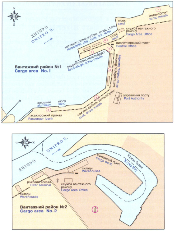 Схема порта: Запорожский